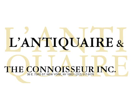 L'Antiquaire and the Connoisseur