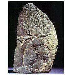 Egyptian schist relief of Pharaoh Seti I. ca.1295-1070 BC.