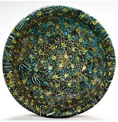 Early Roman mosaic glass bowl. 1st c. BC – 1st c. AD