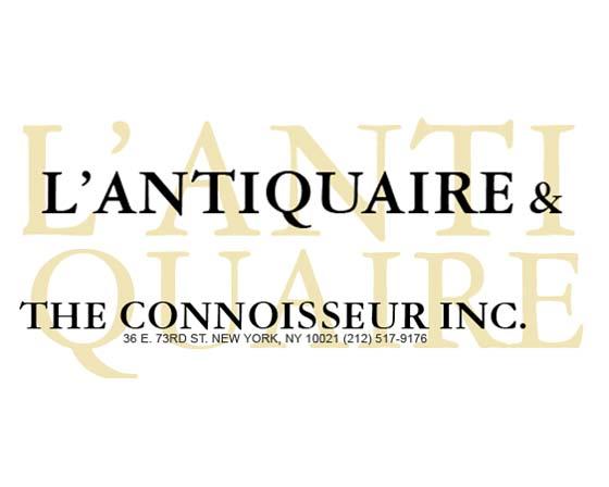 L'Antiquaire and the Connoisseur