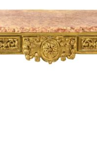 Italian Carved and Giltwood Neoclassical Console Table, c.1790