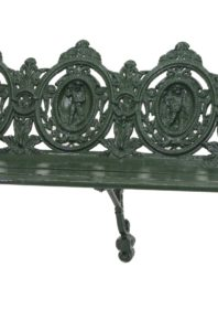 Cast Iron Garden Bench, c. 1880