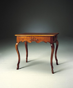 French Régence Period, Light Walnut Table