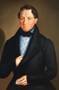 Biedermeier Portrait of a Gentleman, c. 1820