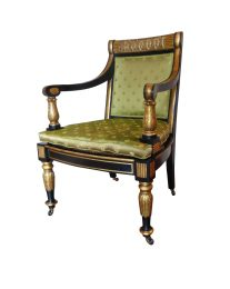 Fine English Regency Period Armchair