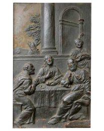 Italian Renaissance wax plaquette