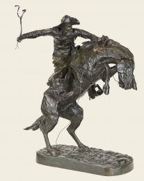 Frederic Remington: Bronco Buster