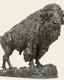 Henry Shrady – Elk Buffalo