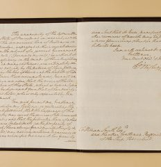 George Washington –  Important letter in support of ratifying the Constitution, 1788.