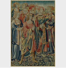 Courtly Figures in a Landscape, Brussels ca. 1520