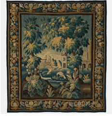 Verdure Landscape with Birds, French 18th Century