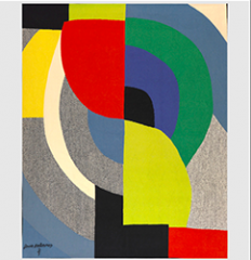 Sonia Delaunay Aubusson Tapestry