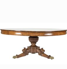 Anglo-Indian-Padouk-Wood-Circular-Center-Dining-Table