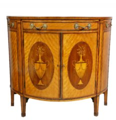 George-III-Satinwood-and-Marquetry-Demilune-Commode
