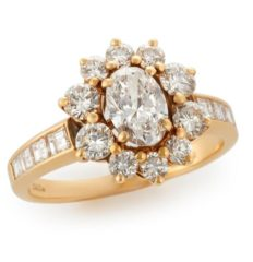 Garrard, London diamond ring