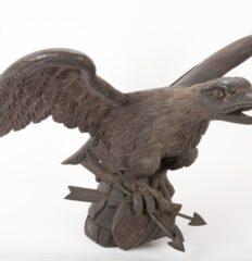 Oak Carved Eagle