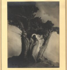 Anne Brigman – The Heart of the Storm – Vintage silver print, 1909