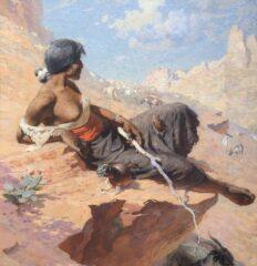 William Robinson Leigh, Indian Herder, 1912