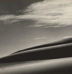 Edward Weston – Dunes, Oceano – Vintage silver print, 1936