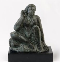 William Zorach, Reclining Figure, 1960